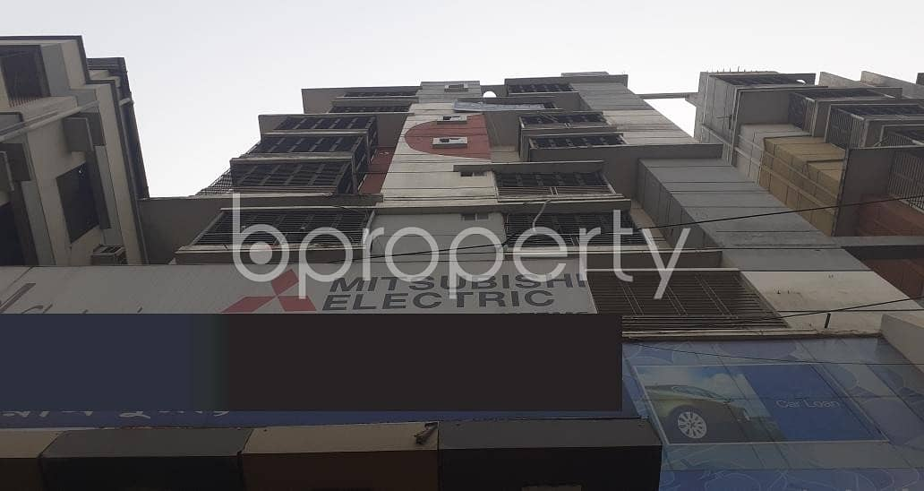 A Commercial Shop Space Of 614 Sq Ft Is Up For Rent In Banasree Main Road.