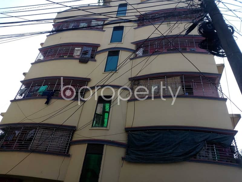2-bedroom Living Space In Excellent Condition Is Up For Rent In The Location Of Notunpara Residential Area