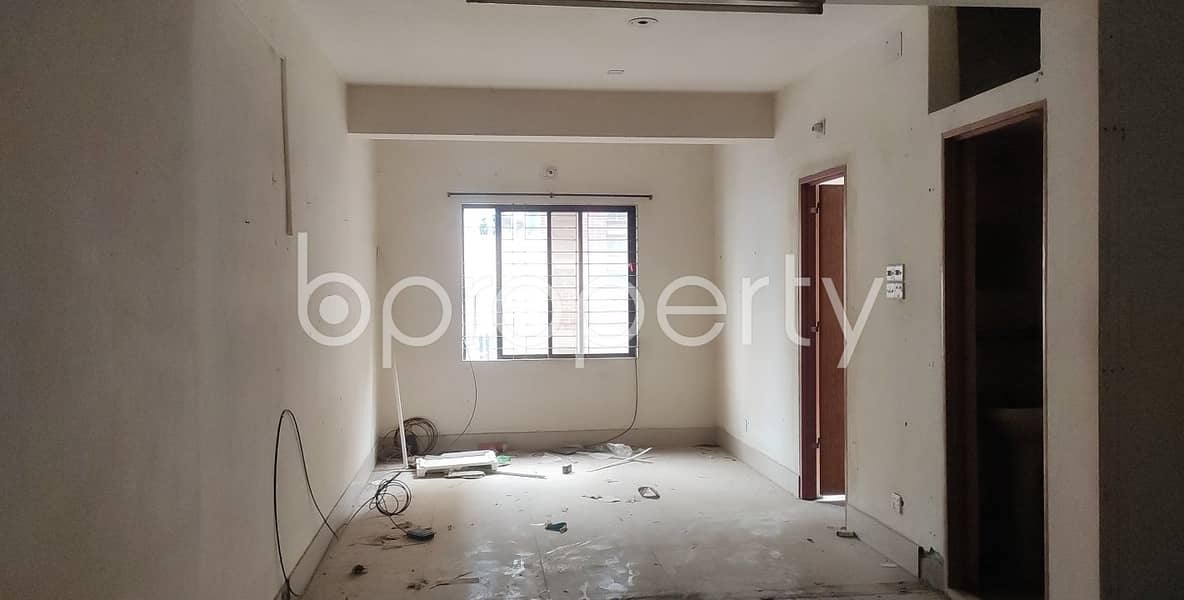 700 Square Feet Ready Commercial Space For Rent In Panthapath Main Road.