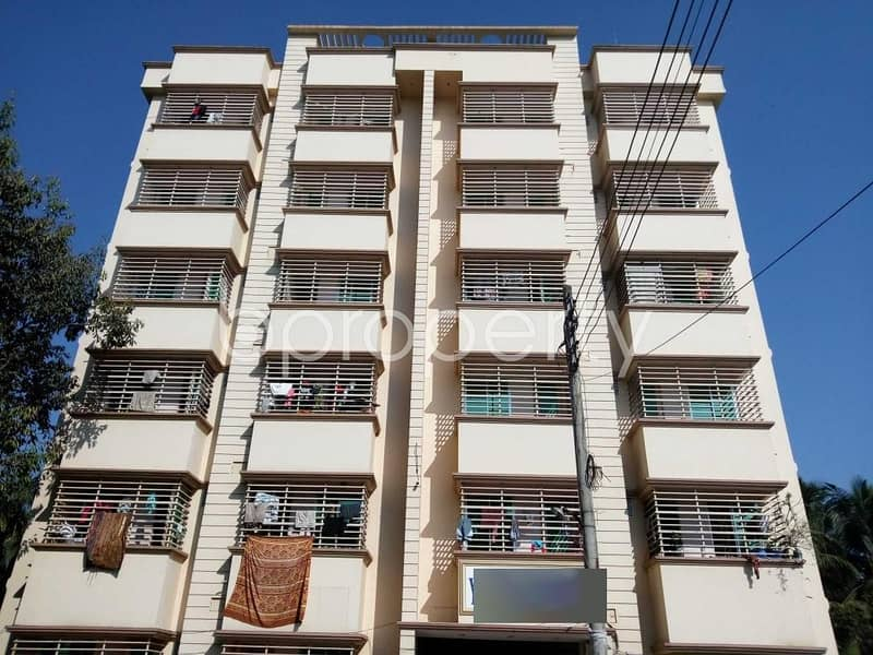 A Nicely Planned 800 Sq Ft Flat Is Up For Rent In Aman Bazar