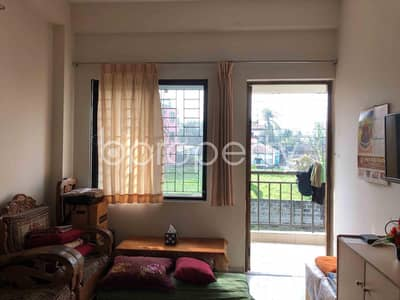 2 Bedroom Apartment for Sale in Dakshin Khan, Dhaka - A Structurally Well Set Living Property For Sale Is Available In Moushair.