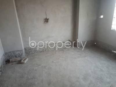 Start Living In This Nice Flat Of 1100 Sq Ft Located At Middle Badda Is Ready For Sale