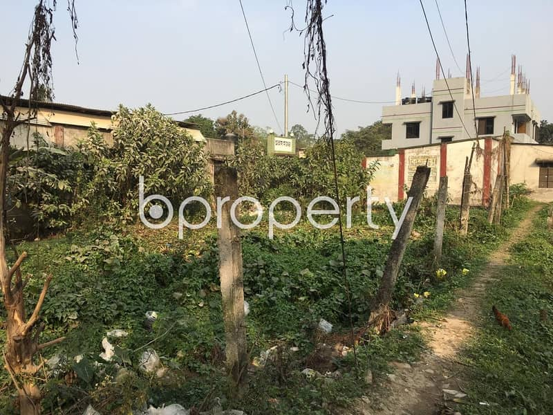 5 Katha Plot Is Ready For Sale At Uttar Khan