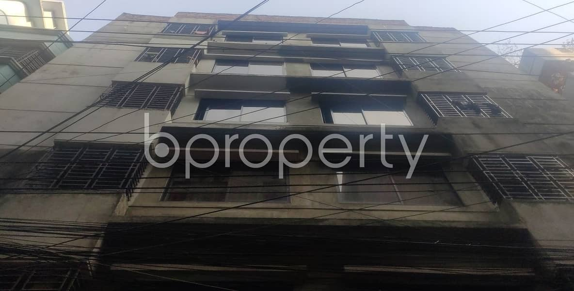 Close To Khan Hasan Adarsha Government Primary School At Kathalbagan , A 750 Square Feet Ready Commercial Office For Rent.