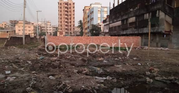 বিক্রয়ের জন্য এর প্লট - শোলোকবাহার, চিটাগাং - 2680 Sq Ft Residential Plot Is Up For Sale At Sholokbahar, Al-madani Road