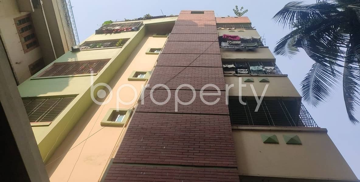 In An Urban Location And Reasonable Price, See This 1305 Sq. Ft Flat Is Available For Sale In North Dhanmondi Road.