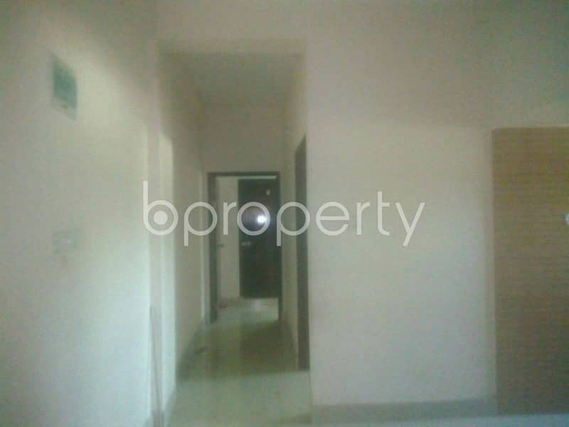 This suitable 900 SQ FT residential apartment is waiting to get rented at Mohara