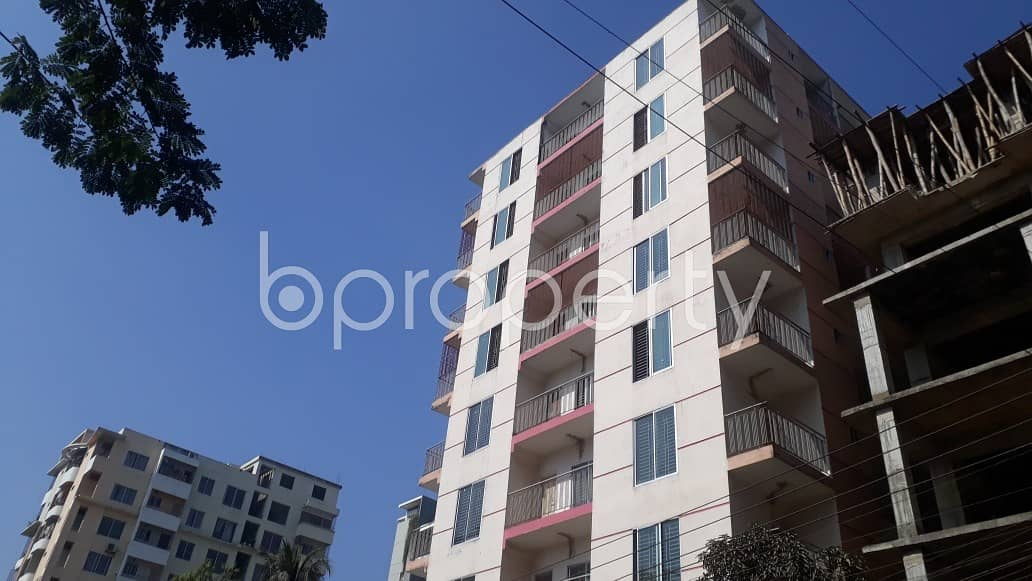 Plan to move in this 1400 SQ FT flat which is up for sale in 26 No. North Halishahar Ward