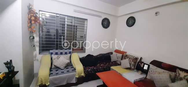 Obtain This Well Fitted Flat Of 1500 Sq Ft Which Is Up For Sale In Sector 10, Uttara
