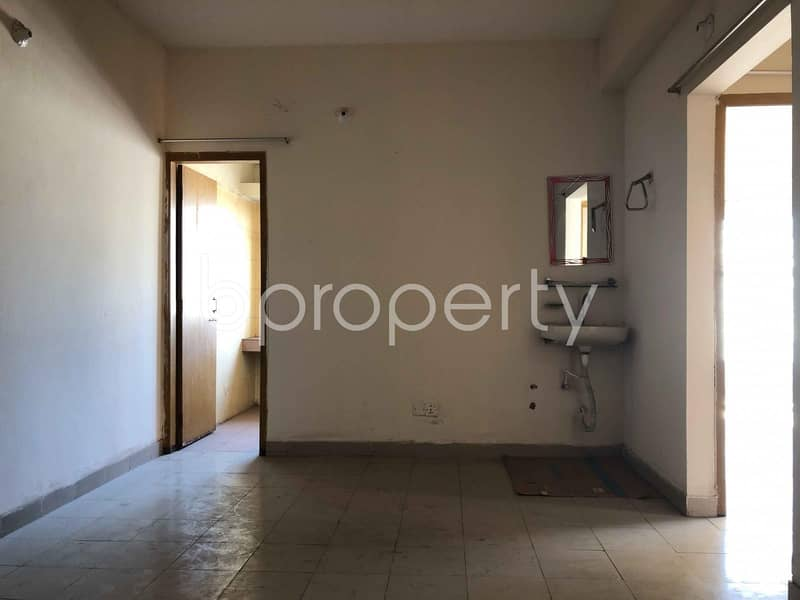 Affordable And Wonderful Flat Up For Sale In East Nasirabad