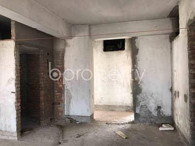 বিক্রয়ের জন্য BAYUT_ONLYএর ফ্ল্যাট - দক্ষিণ খান, ঢাকা - 1355 Sq Ft Living Property For Sale In Dakshin Khan, Naddapara-ashiyan City Road
