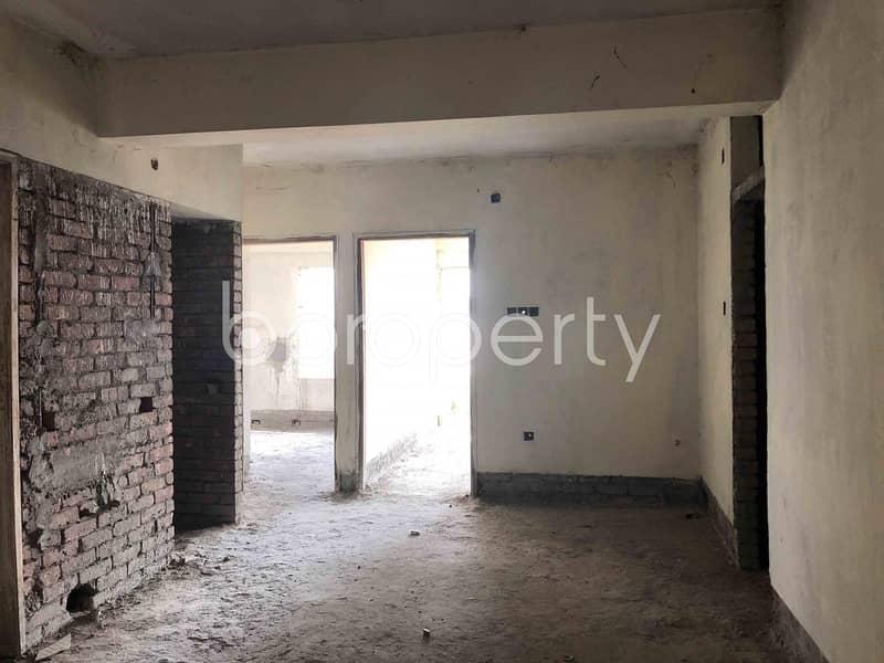 1065 Square Feet Apartment For Sale In Naddapara-Ashiyan City Road, Taltola .