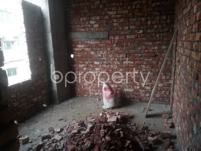 Obtain This Well Fitted Flat Of 1000 Sq Ft Which Is Up For Sale In Tongi