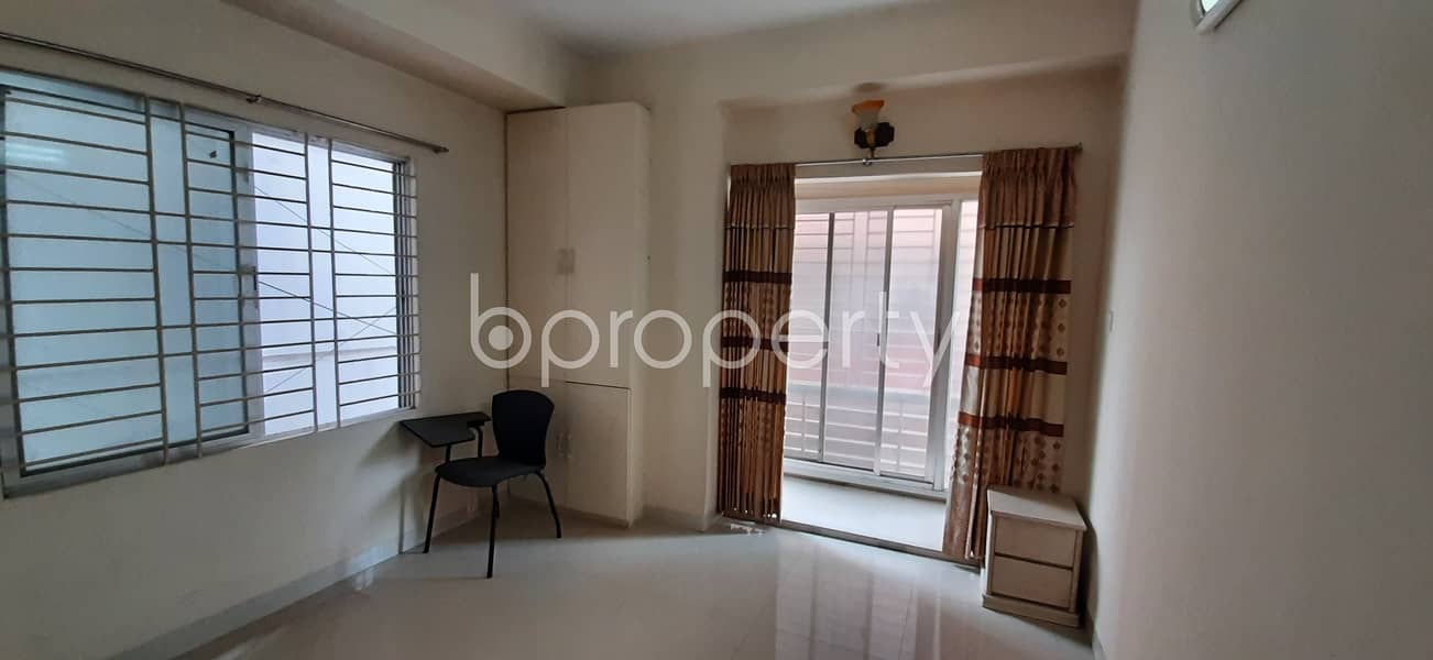 We Have A 1300 Sq. Ft Flat For Sale In Uttara Nearby I. E. S School & College.
