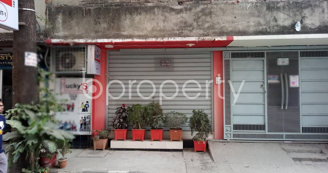 Mirpur-11 Is Offering You A 250 Square Feet Shop Up For Rent