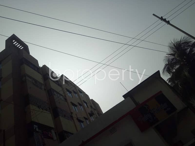 Completely Suitable 3 Bedroom Residential Place For Rent In 16 No. Chawk Bazaar Ward.