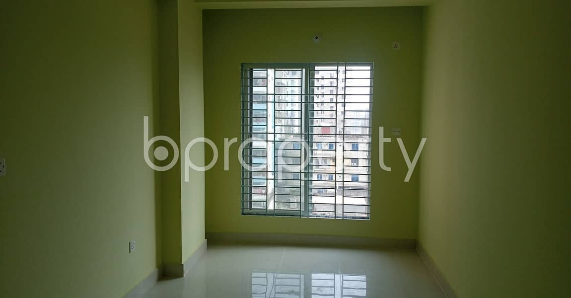 An appropriate 950 SQ FT apartment is arranged to be rented at Bakalia, Chattogram