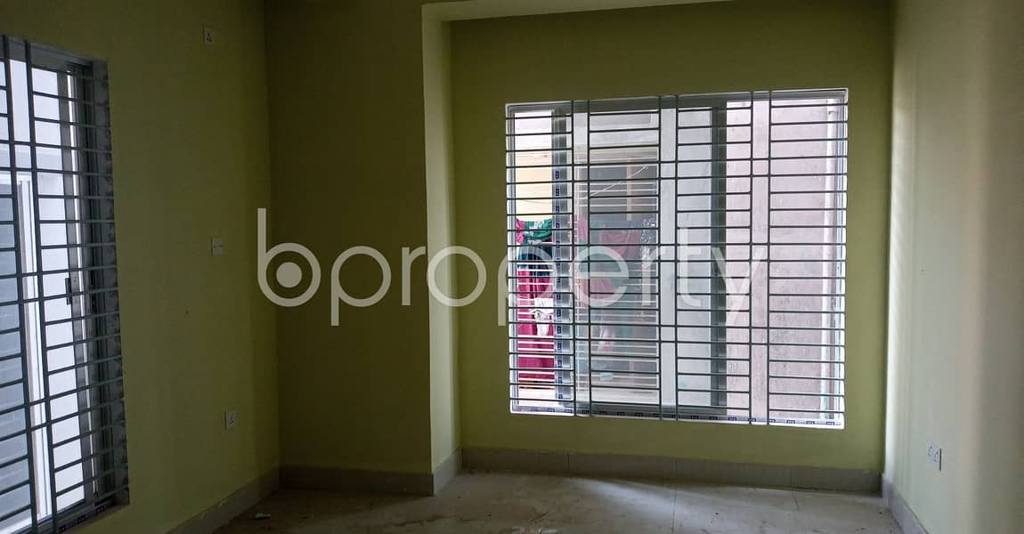 Well Facilitated 1400 Sq Ft Residence Is Ready To Rent In Kolpolok R/a Block A.