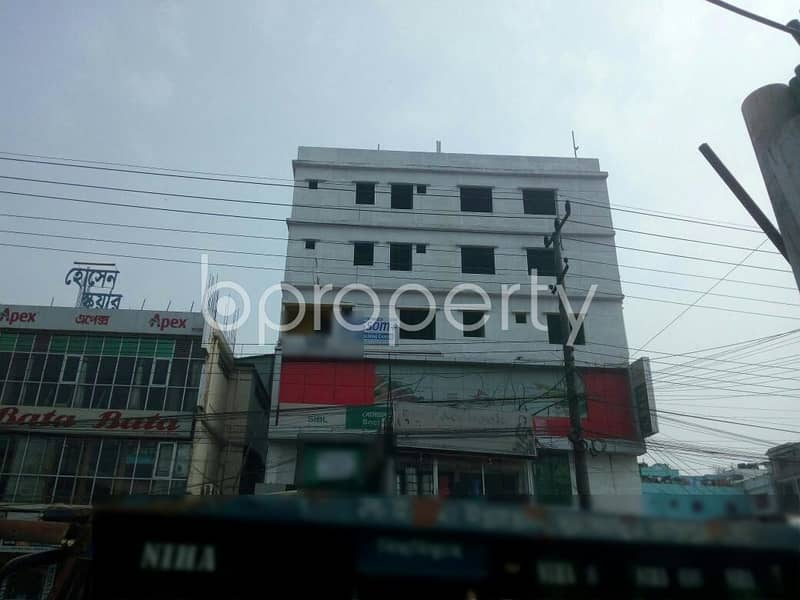 550 Sq Feet Ready Commercial Office Rent At Bayazid.