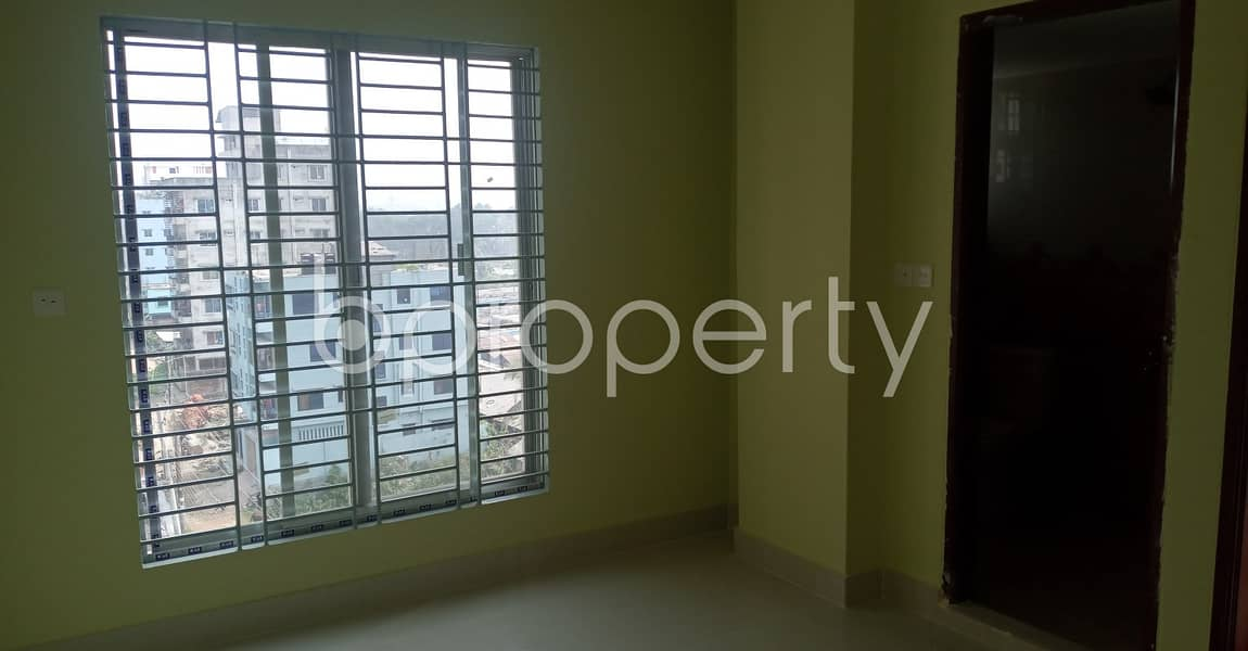 Beautiful Flat Of 950 Sq Ft Is Vacant Right Now For Rental Purpose In Kolpolok R/a, Bakalia