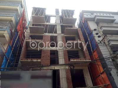 3 Bedroom Flat for Sale in Uttara, Dhaka - Close To Tanjimul Ummah Madrasah At Uttara-13 A 1650 Sq. Ft Residential Apartment For Sale.