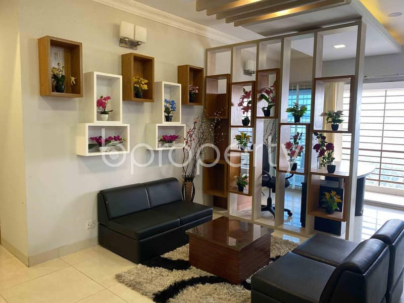 Reside In This 3200 Sq Ft Well Fitted Flat Which Is Located At Dhanmondi