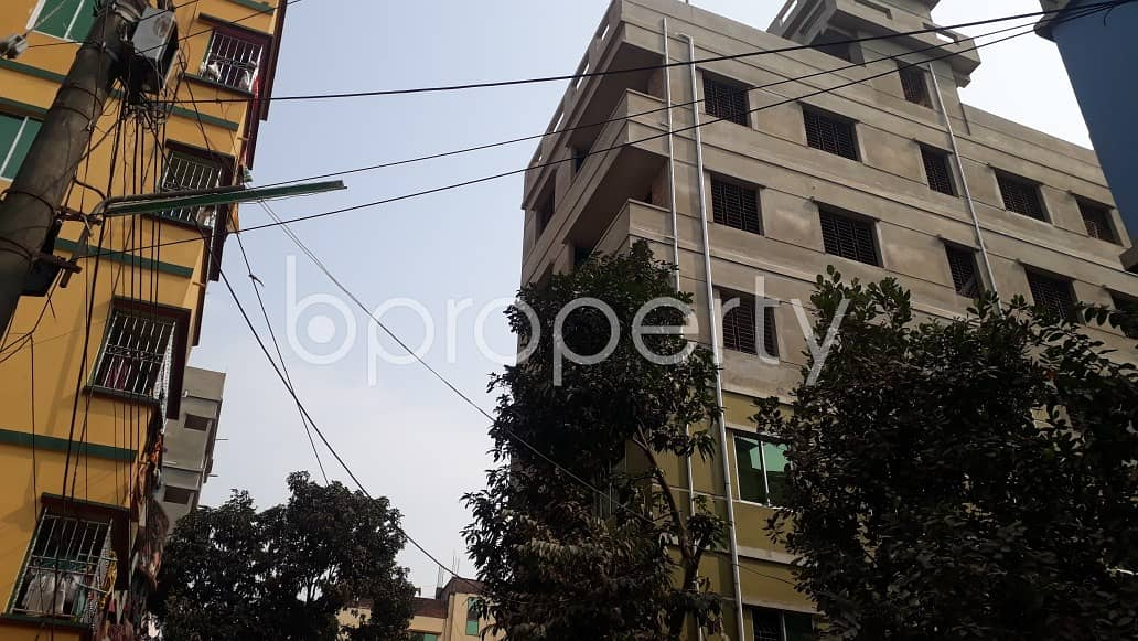 Close To Halishahar B Block Primary School, A Moderate Apartment For Rent Is Available .