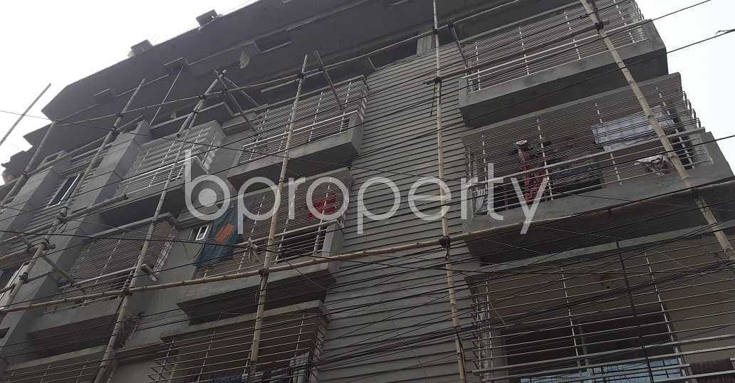 We Have A 1300 Sq. Ft Flat For You In Faidabad Main Road.