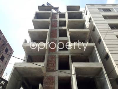 3 Bedroom Flat for Sale in Uttara, Dhaka - Close To Baitur-rashad Jame Masjid At Uttara-10 This 1050 Sq. Ft Residential Apartment For Sale