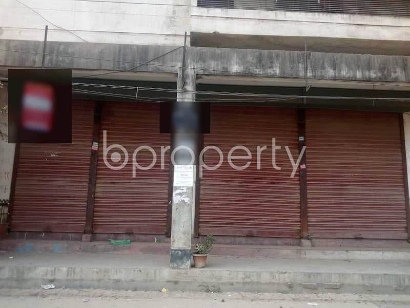 A Shop Is Up For Rent In South Banasree Projec Near South Banasree Central Jame Masjid