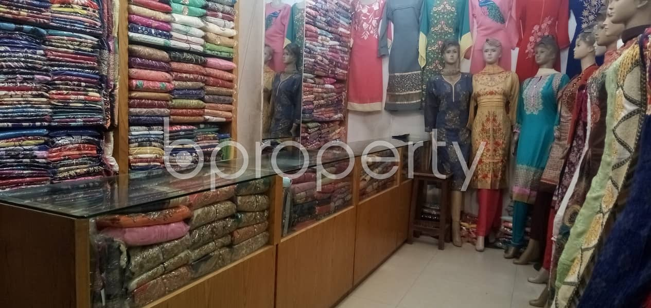 Adjacent To Rajlokkhi Complex, This Commercial Shop Is Up For Rent In Uttara 3.