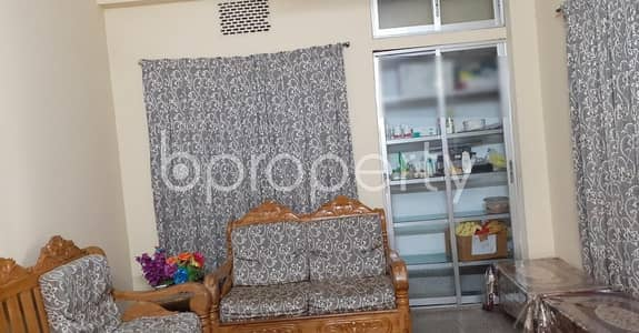3 Bedroom Apartment for Rent in 10 No. North Kattali Ward, Chattogram - 900 Sq Ft Flat Is Up For Rent At Colonel Hat
