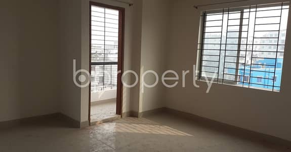 3 Bedroom Flat for Rent in Mirpur, Dhaka - Properly designed this 1450 SQ Ft home is now up for rent in West Monipur