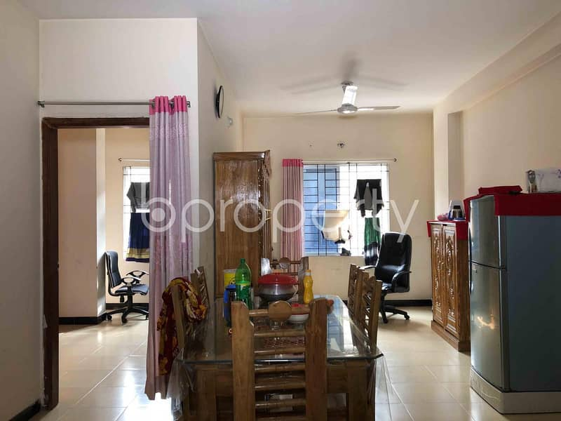 This 1175 Sq. ft Flat For Sale In Ibrahimpur Bazar Road.