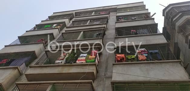 2 Bedroom Flat for Rent in Badda, Dhaka - A Convenient And Well-constructed 700 Sq. Ft Flat Is For Rent Very Close To Uttar Purba Badda Government Primary School.
