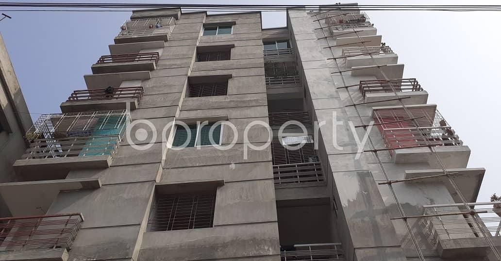 A 887 Sq. Ft Apartment For Sale Very Near To Baitul Aman Mosjid At Kazibari .