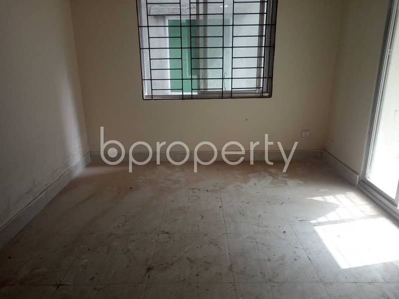 Comfortability All Around In This 1250 Sq. Ft Flat Which Is Up For Sale Near By Bayatul Ma'Bud Jame Mosjid At Ibrahimpur .