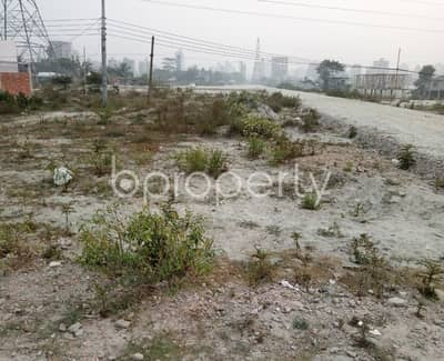 Plot for Sale in Aftab Nagar, Dhaka - Grab This 6 Katha Residential Plot Which Is Ready For Sale At Aftab Nagar Block H.