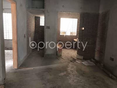 3 Bedroom Flat for Sale in Aftab Nagar, Dhaka - Check This Fine Looking Flat Of 1350 Sq Ft Offered For Sale At Aftab Nagar