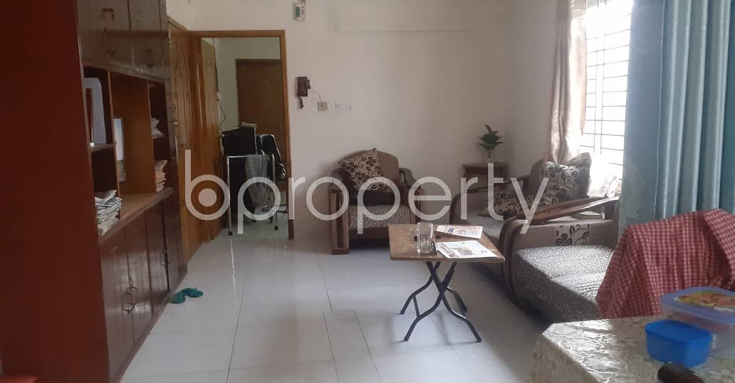 Ready 1200 SQ FT beautifully built apartment is now for sale in North Shahjahanpur