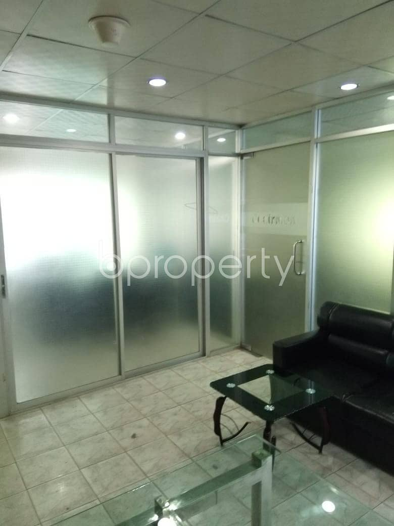 Fully Furnished Office Space Of 1100 Sq Ft Is Up For Rent In New Elephant Road