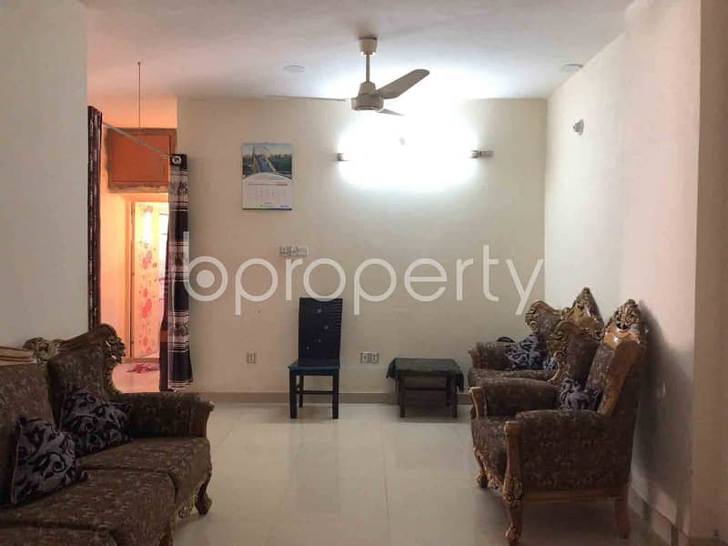 Here Is A Well Defined Flat Of 1380 Sq Ft Waiting For Sale At Dakshin Khan