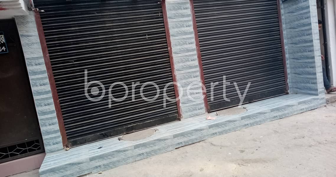 Mohammadpur Is Giving You A 150 Sq Ft Commercial Shop For Rent