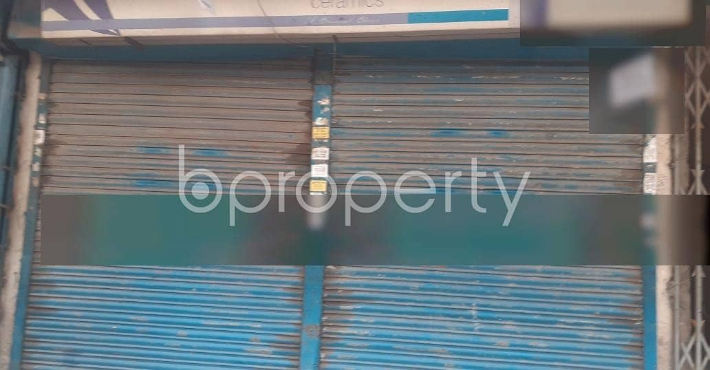 A 475 Sq. ft Shop Space For Rent Near By Al-Arafah Islami Bank Limited At Malibagh .