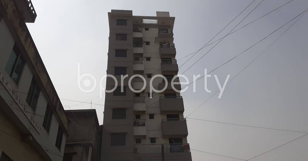 3 Bedroom, 2 Bathroom Apartment With A View Is Up For Rent At Patharghata .