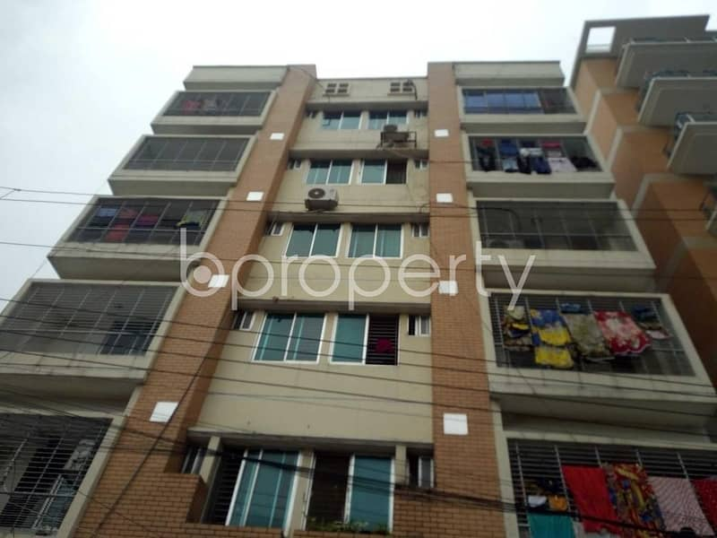 An Apartment for sale is all set for you to settle in Bashundhara close to Govt. Kalachandpur School & College