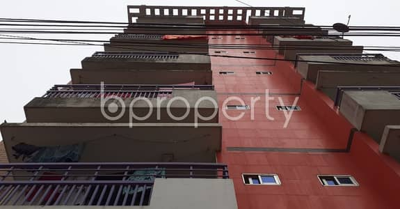 3 Bedroom Flat for Rent in 9 No. North Pahartali Ward, Chattogram - This 1200 Sq. Ft Convenient Flat Is For Rent At Kaibalyadham Housing Society