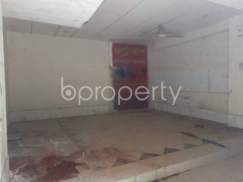 300 Sq/ft Commercial Shop For Rent At Senpara Parbata