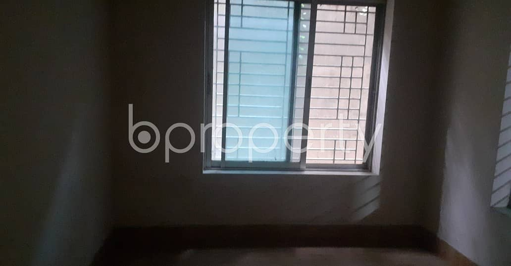 Be The Occupant Of This 800 Sq Ft Residential Place Up For Rent At Zakir Hossain Housing Society.