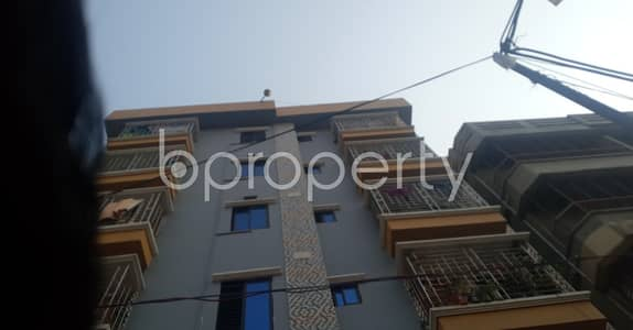 Suitable For Family Living A 800 Sq Ft Flat Is Available For Rent In Bashundhara R/a